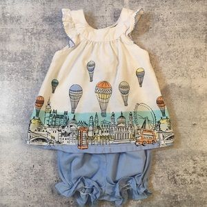 Other - Hot Air Balloon Infant Bloomer Set